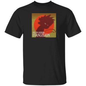 The Hard Times Shop Pee On Genesis Evangelion Shirt Hard Drive