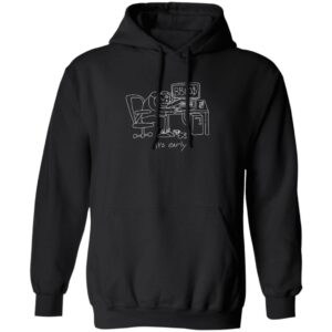 Bbno$ Merch Its Early Hoodie